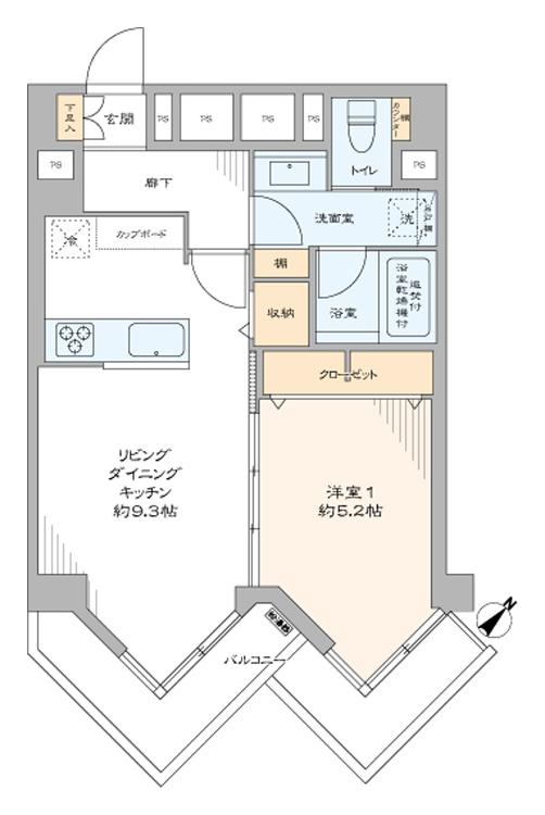 九段フラワーホームズ901号室