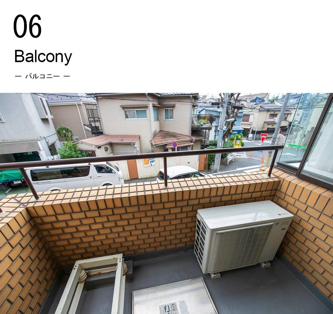 06,balcony,バルコニー