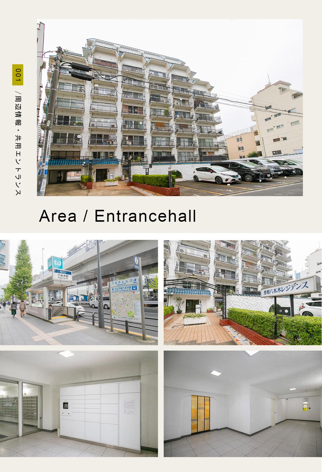 001Area,entrancehole,周辺情報,共用エントランス