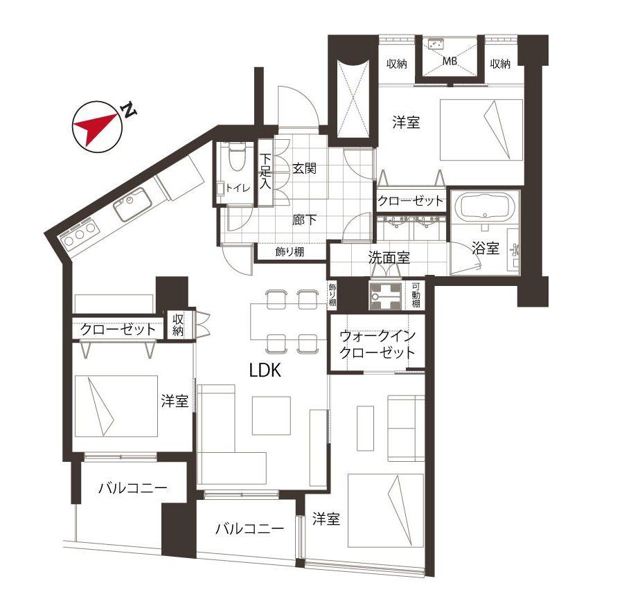 品川Vタワー ~ホテルライクと自分スタイル~