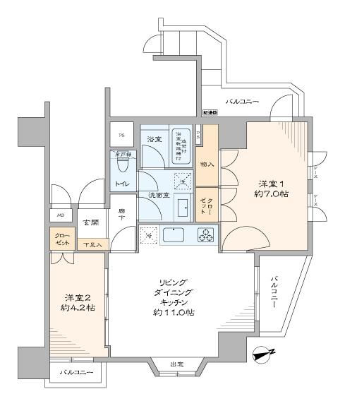 藤和シティホームズ早稲田 ~公園に囲まれた、緑豊かな家~