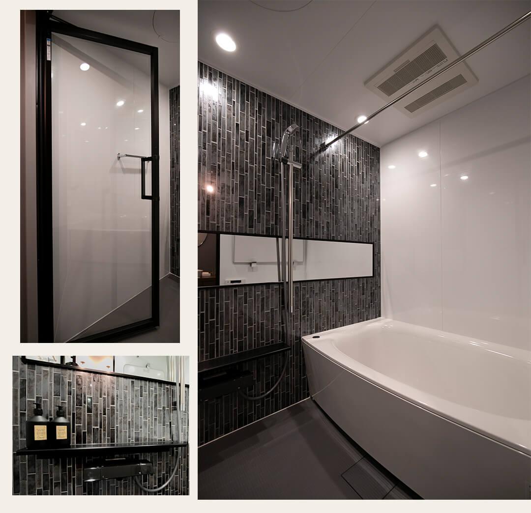 パルテール恵比寿の浴室