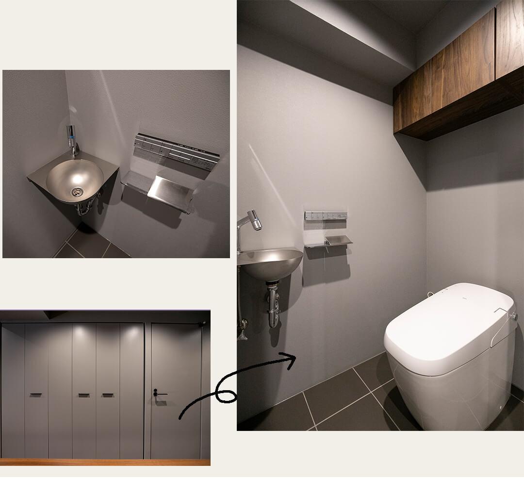 パルテール恵比寿のトイレ