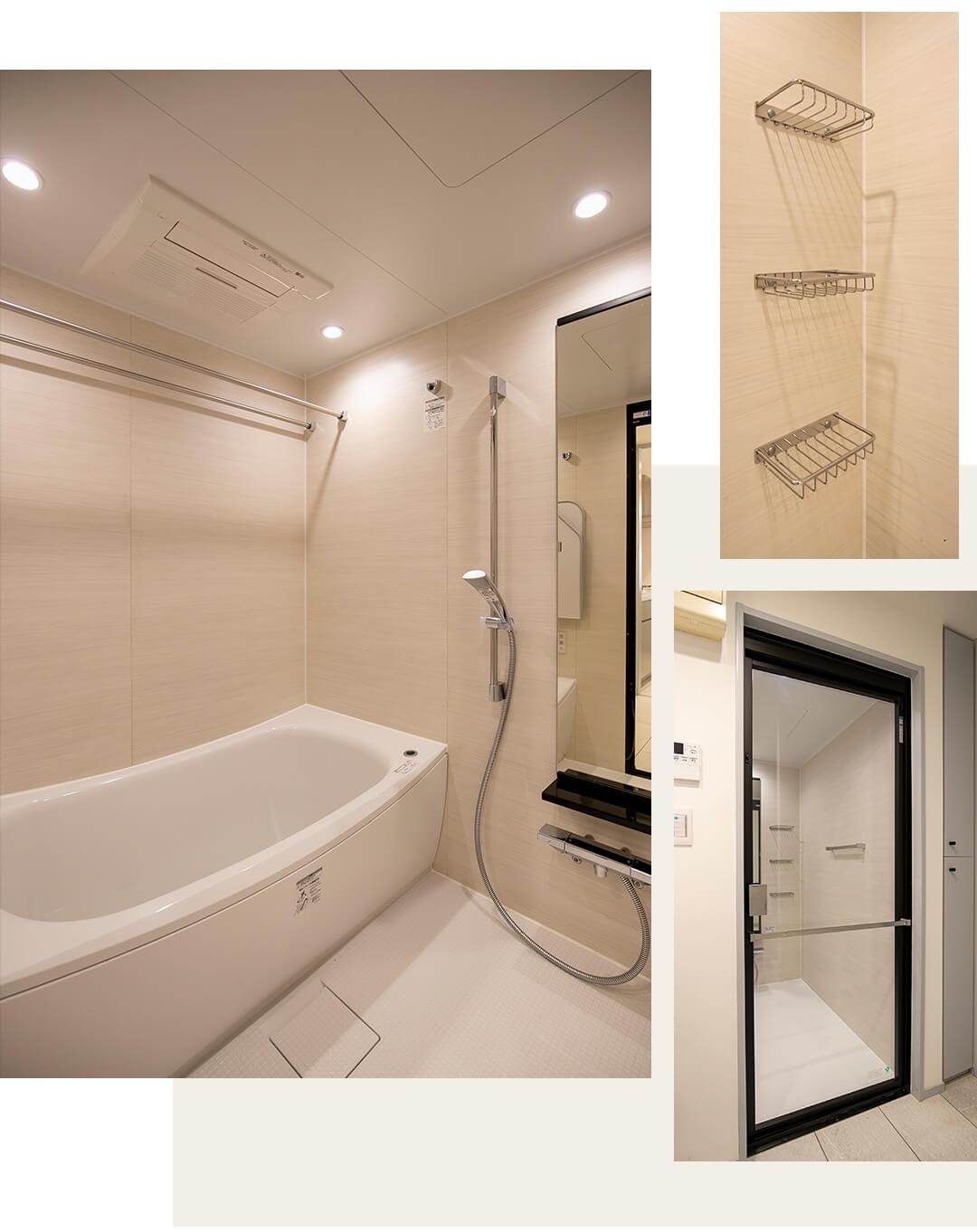 高井戸東デュープレックスの浴室