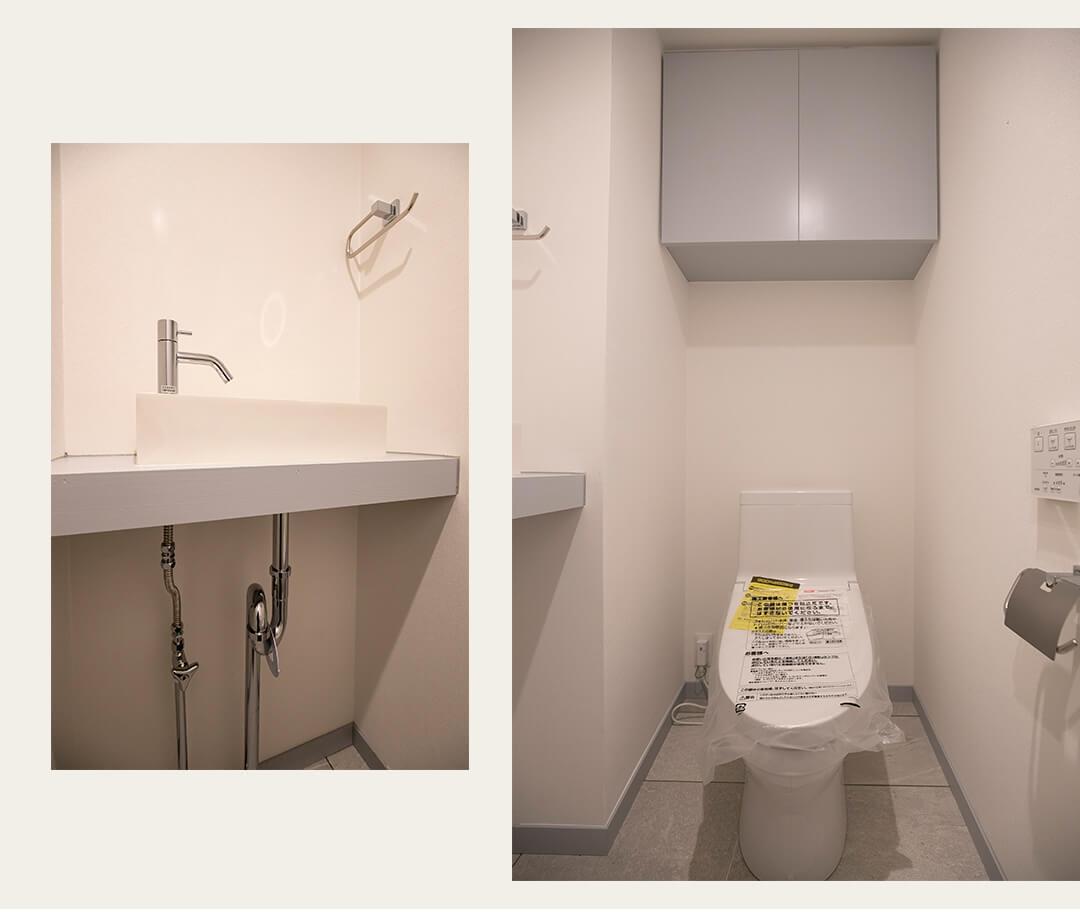 高井戸東デュープレックスのトイレ