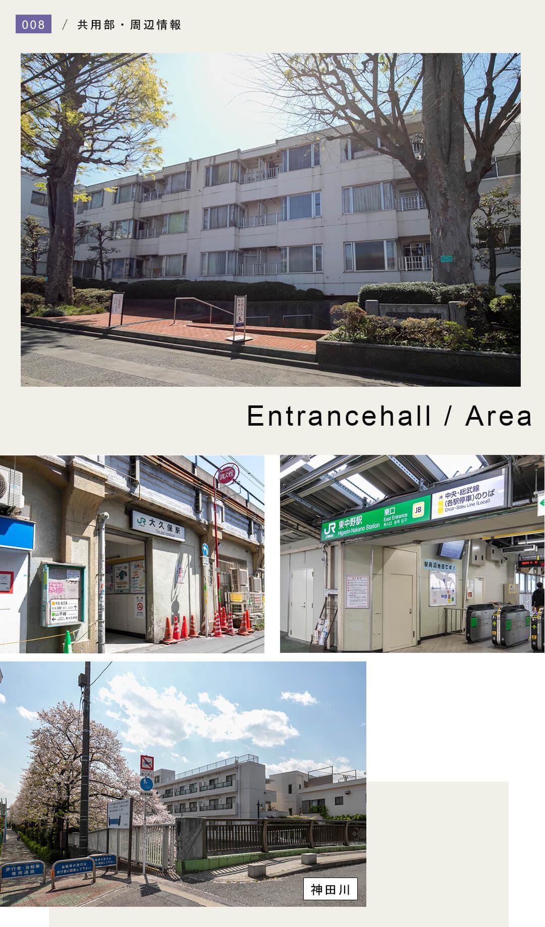 パイロットハウス北新宿のリ外観と周辺情報
