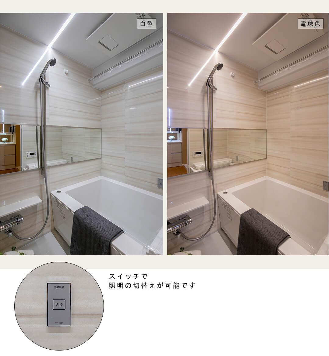 北新宿パークハイツの浴室