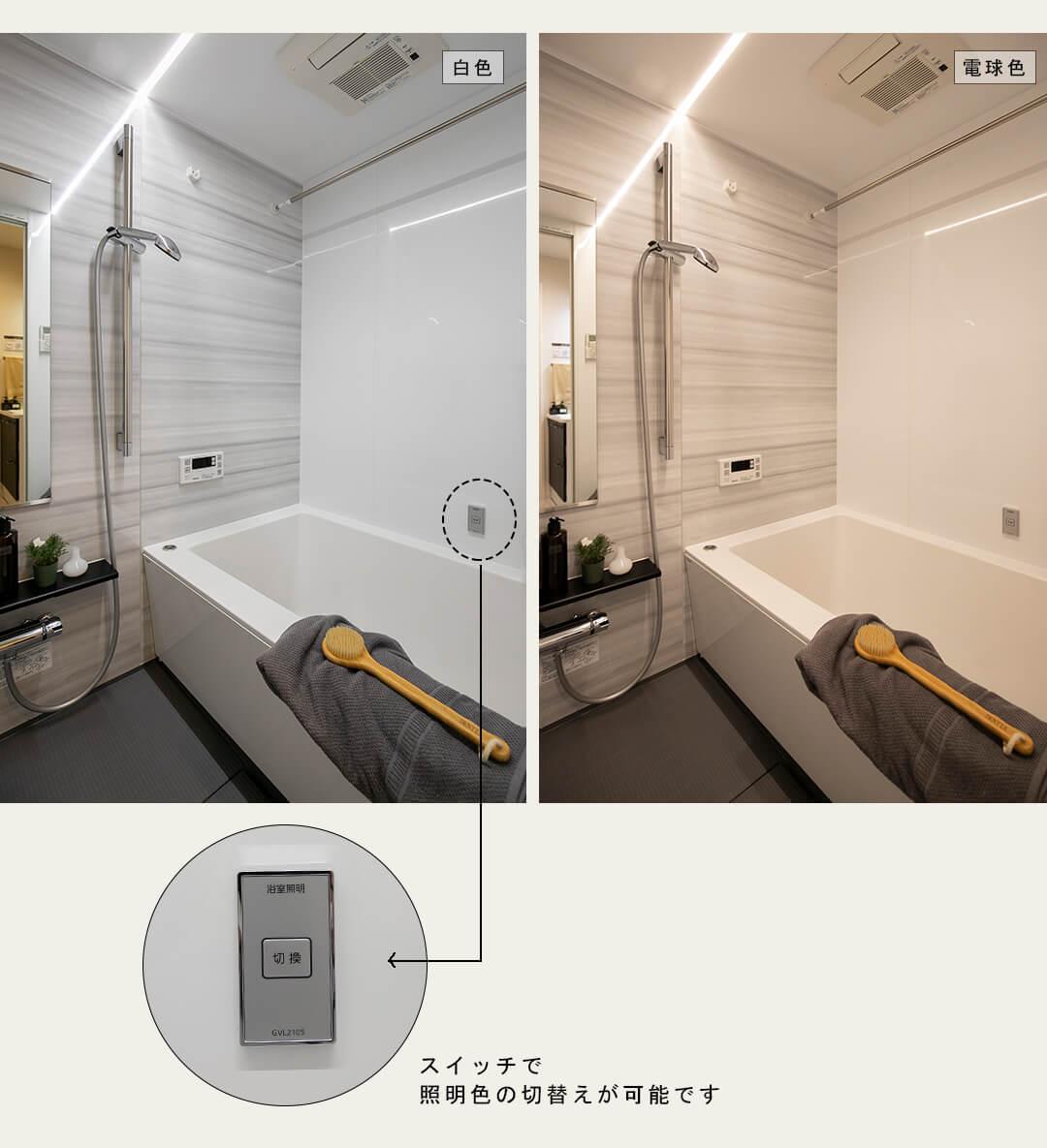 四谷軒第5経堂シティコーポの浴室