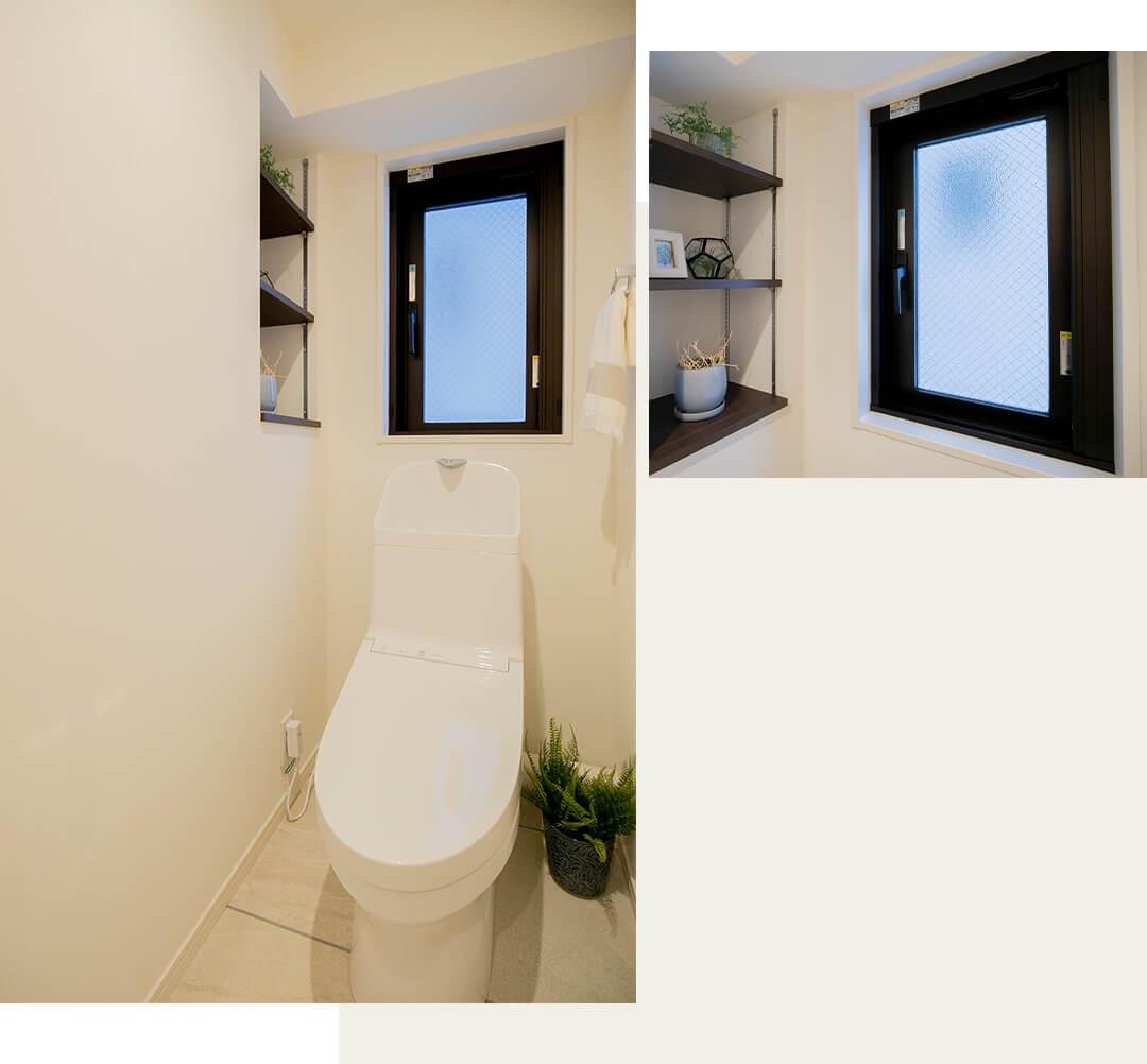 ザ・パームス代々木Ⅲのトイレ