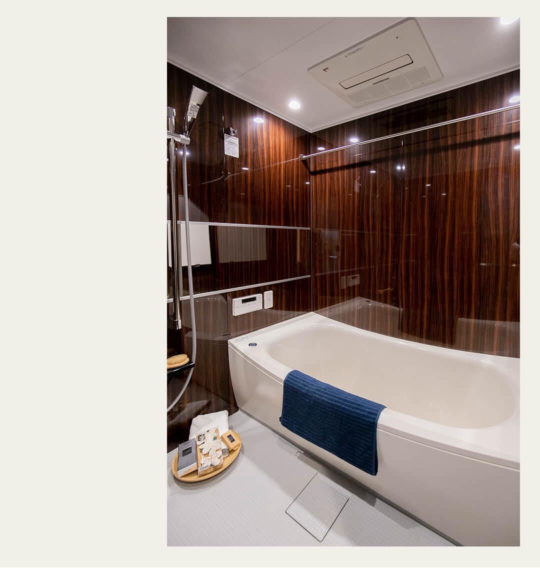 パークハウス代々木公園の浴室