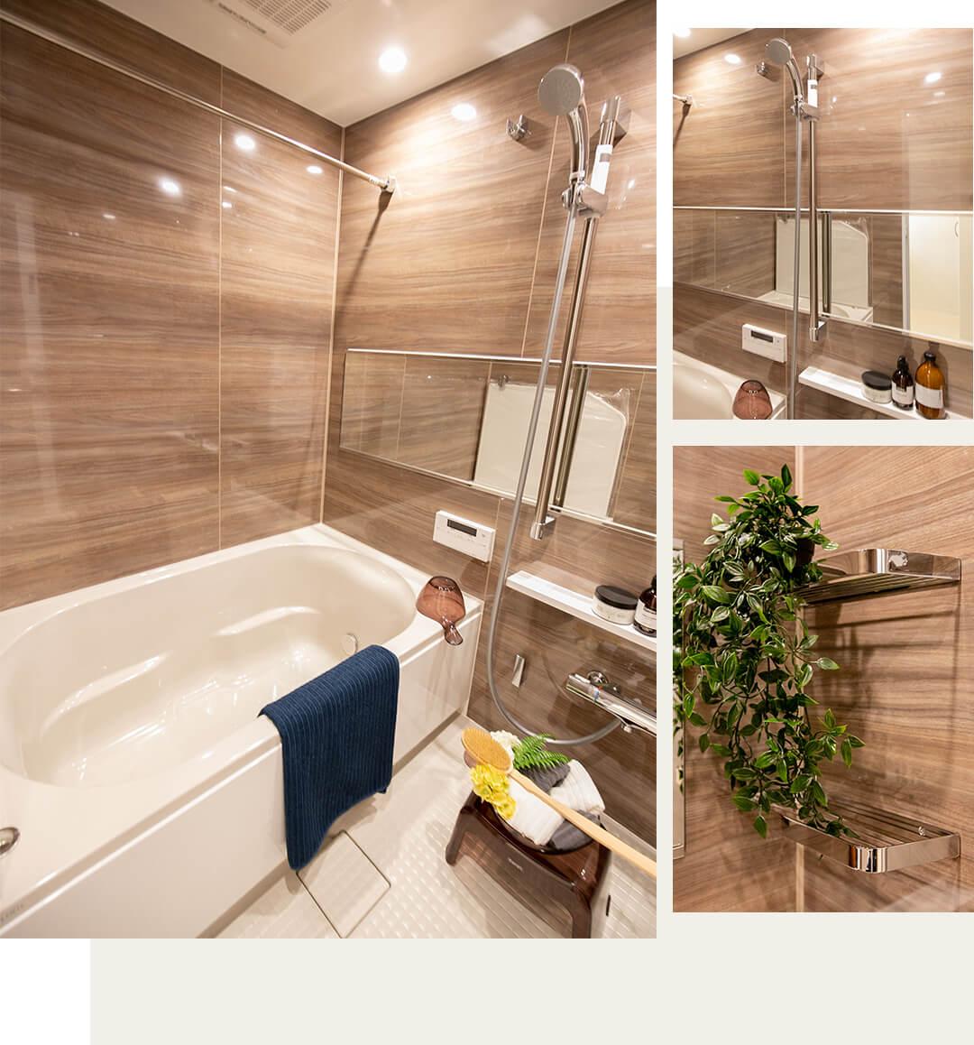パーク・ハイム杉並B棟の浴室