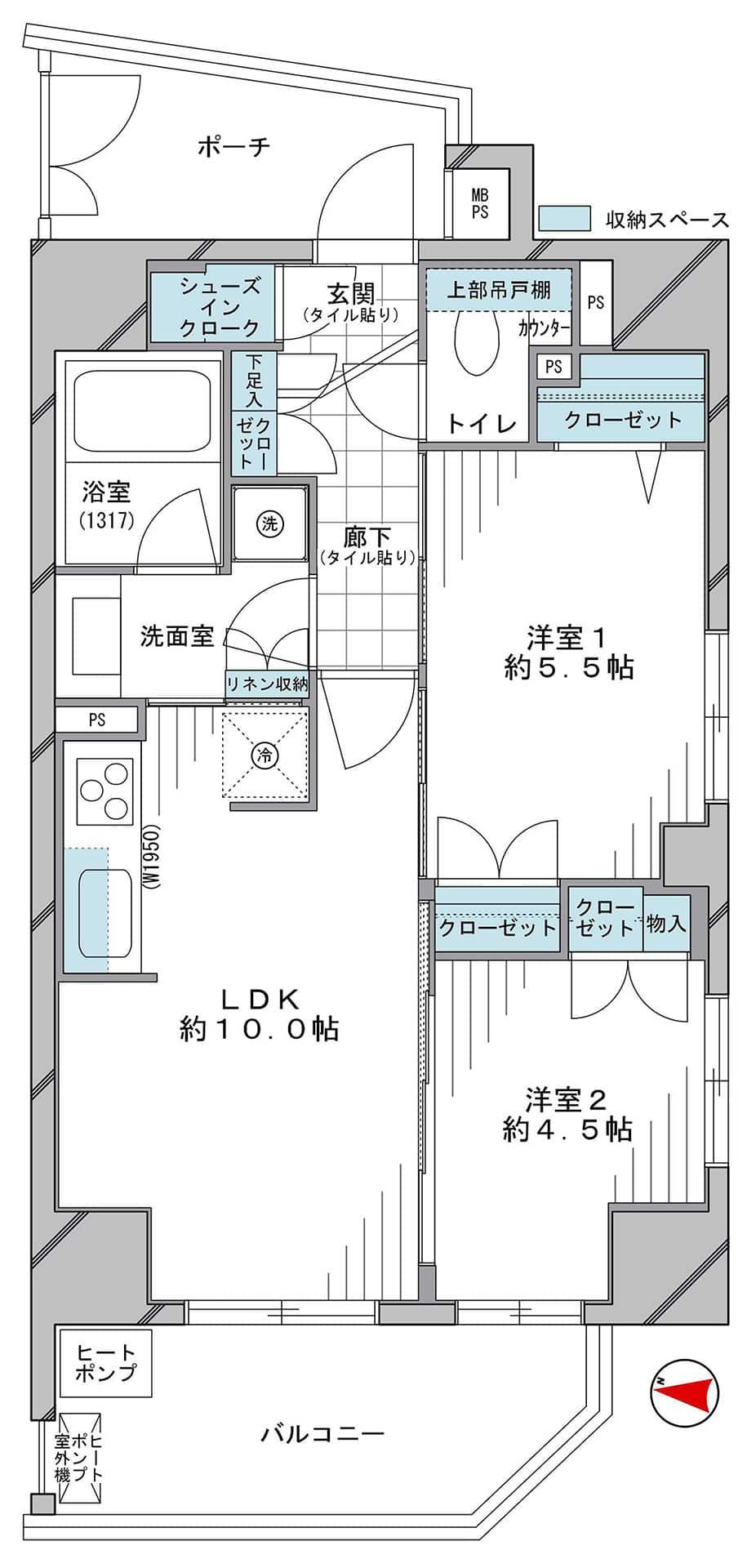 クリオ元浅草 4駅5路線が使える元浅草エリア