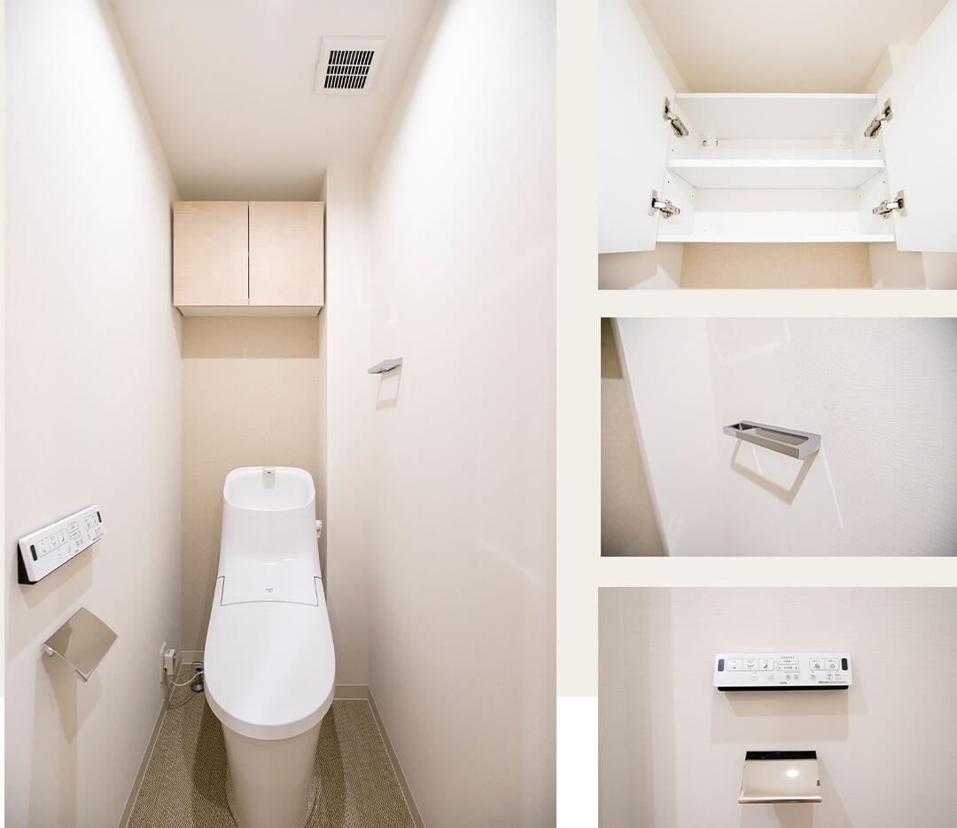 ジースクエアのトイレ