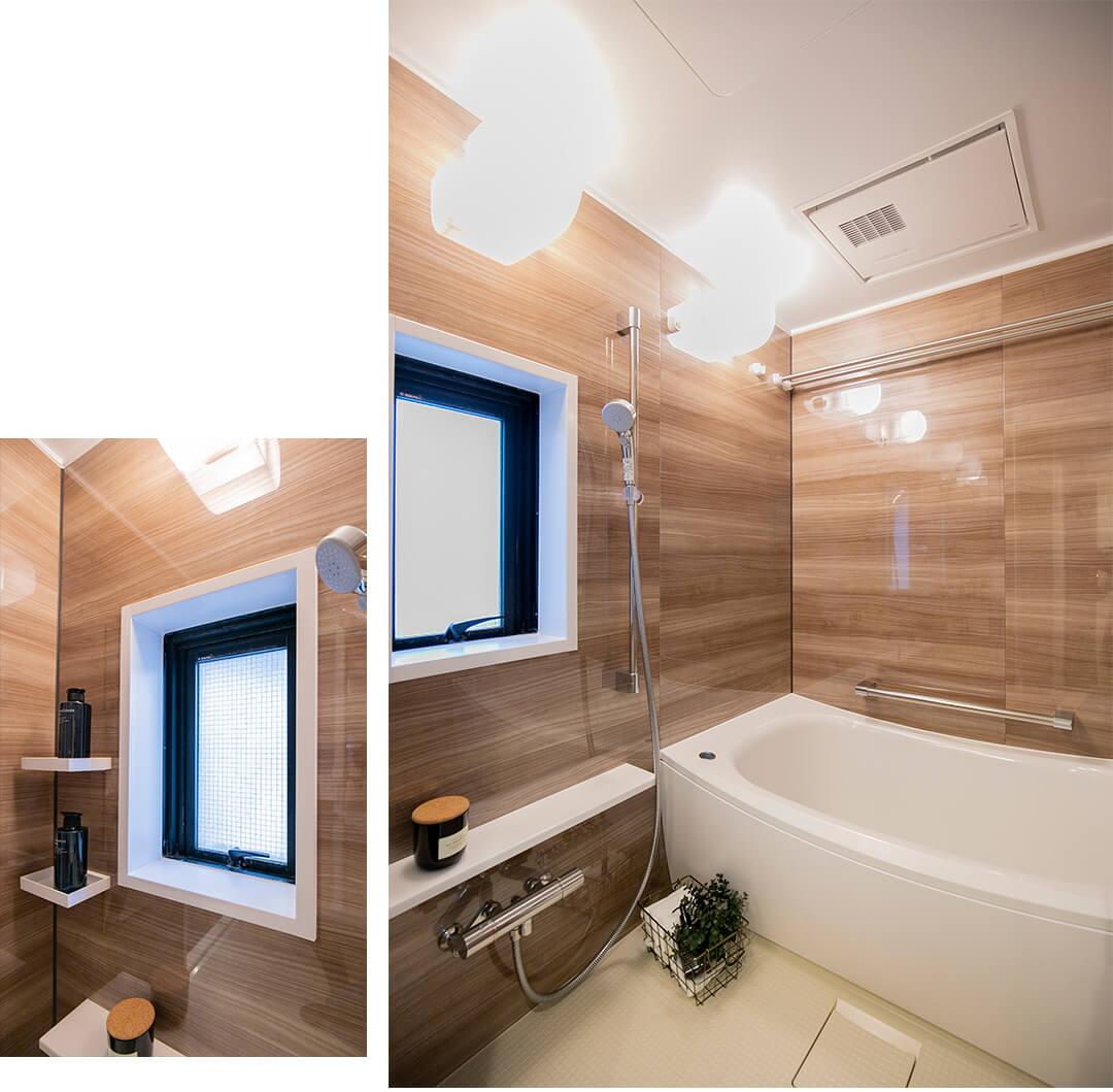 グランドメゾン東池袋の浴室