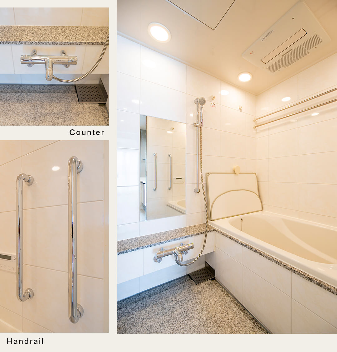 プラウドタワー二子玉川の浴室