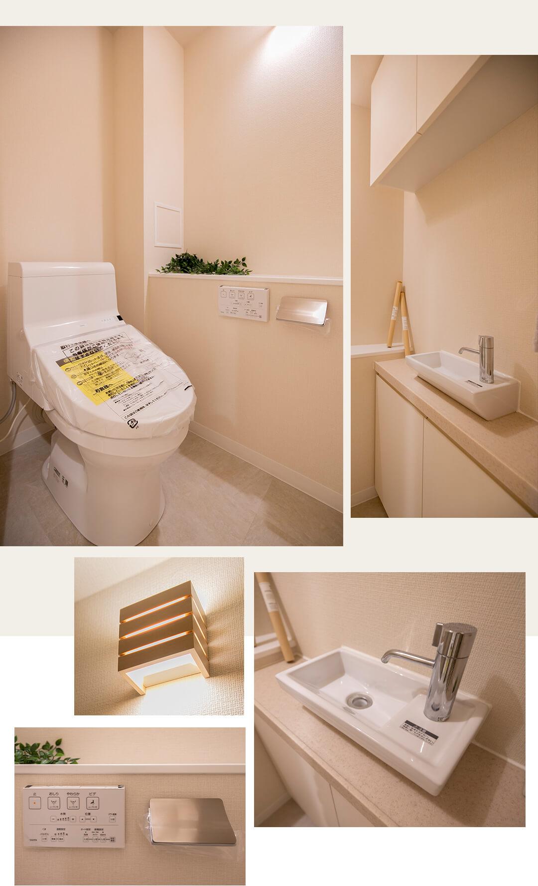 ベルドゥムール文京小石川のトイレ