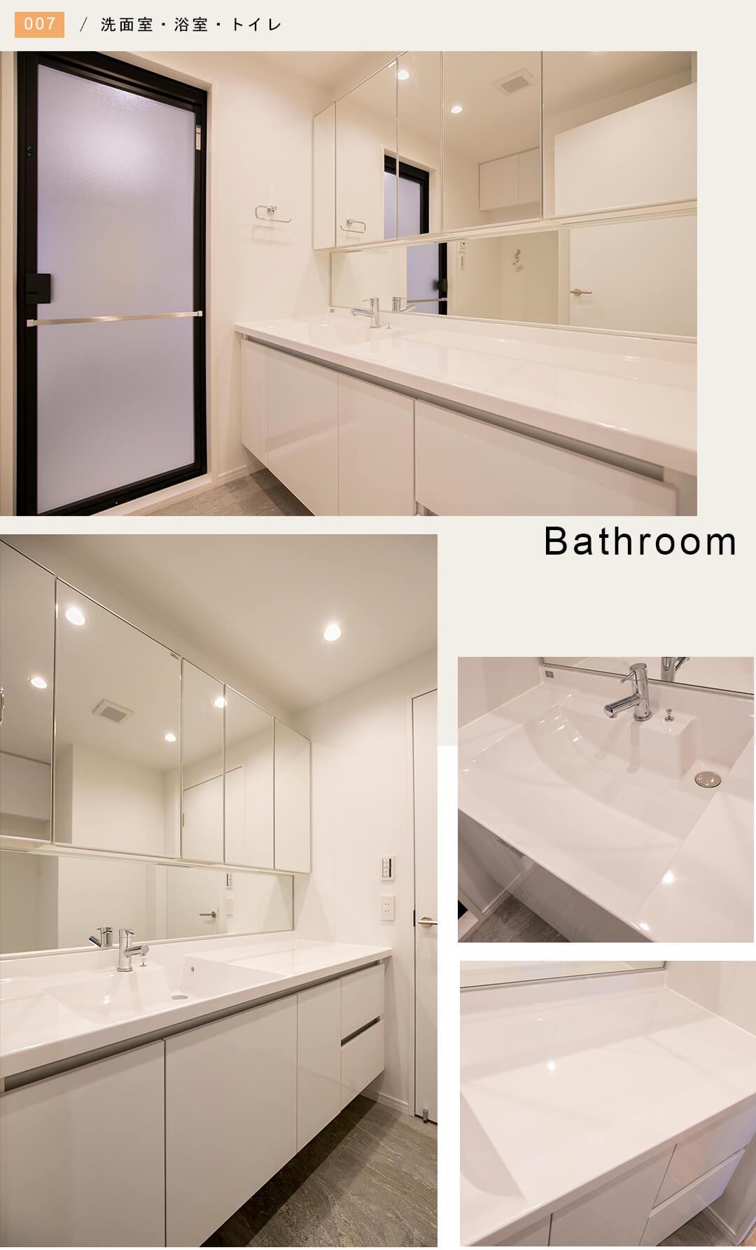 リビオレゾン目白通りの洗面室
