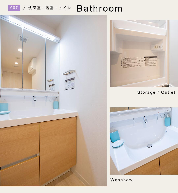 ライオンズマンション武蔵関第2の洗面室