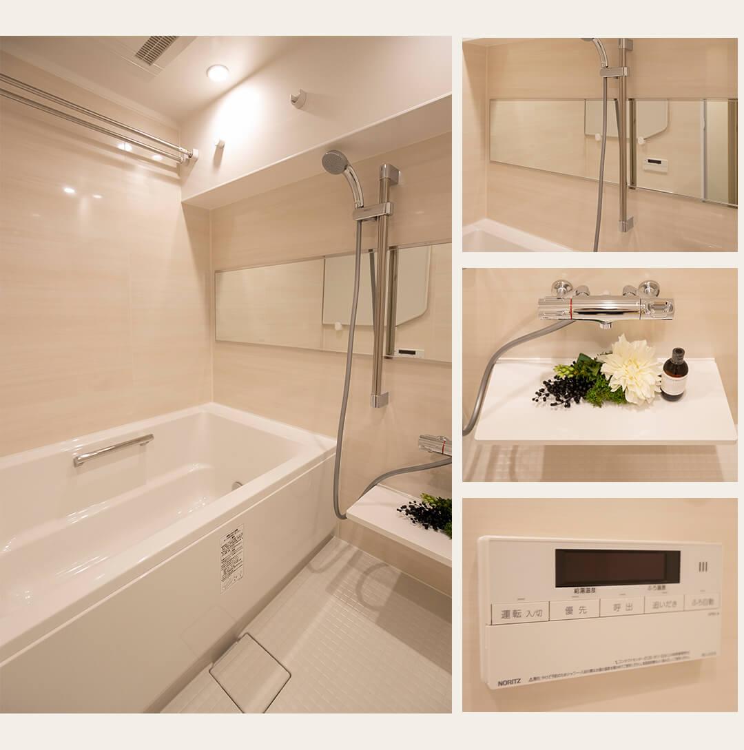 武蔵野サマリヤマンションの浴室