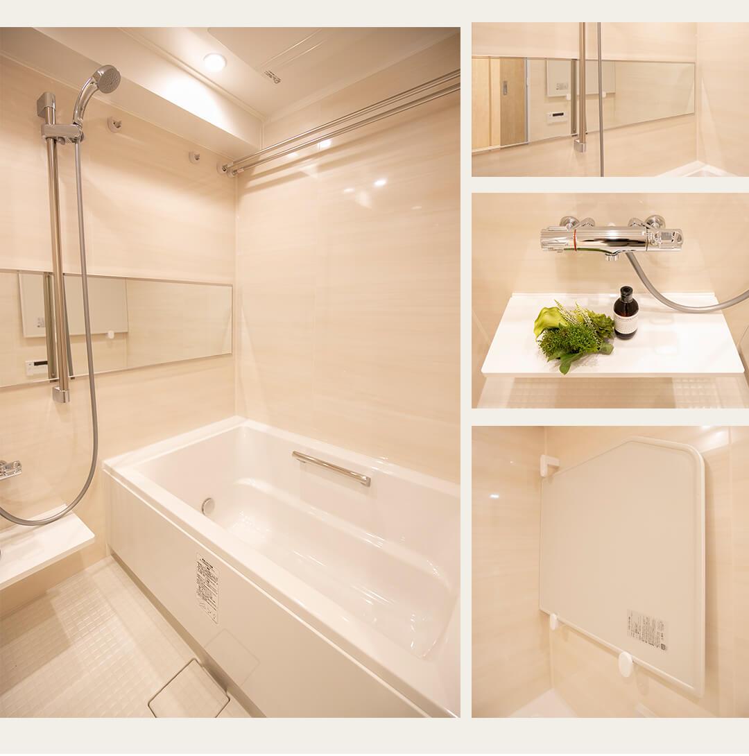 エスカイア上高井戸の浴室