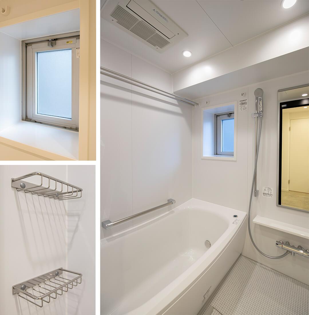 リビオレゾン目白通りの浴室