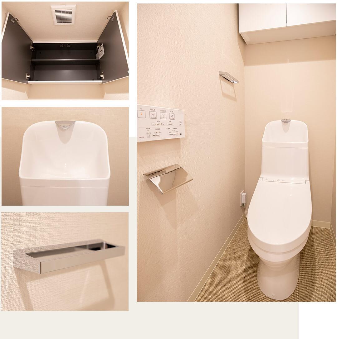 エスカイア上高井戸のトイレ