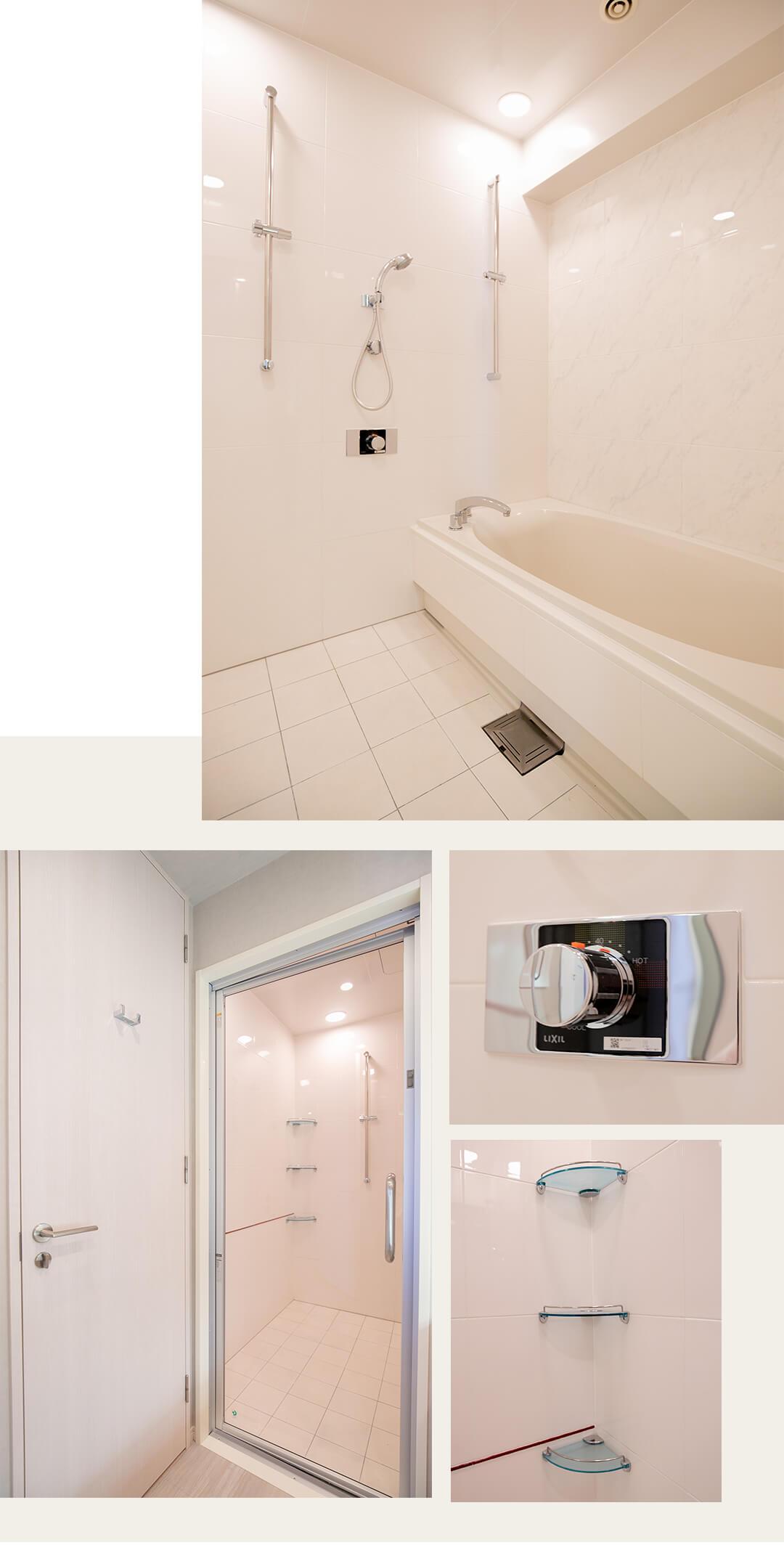 SAION SAKURAZAKAの浴室