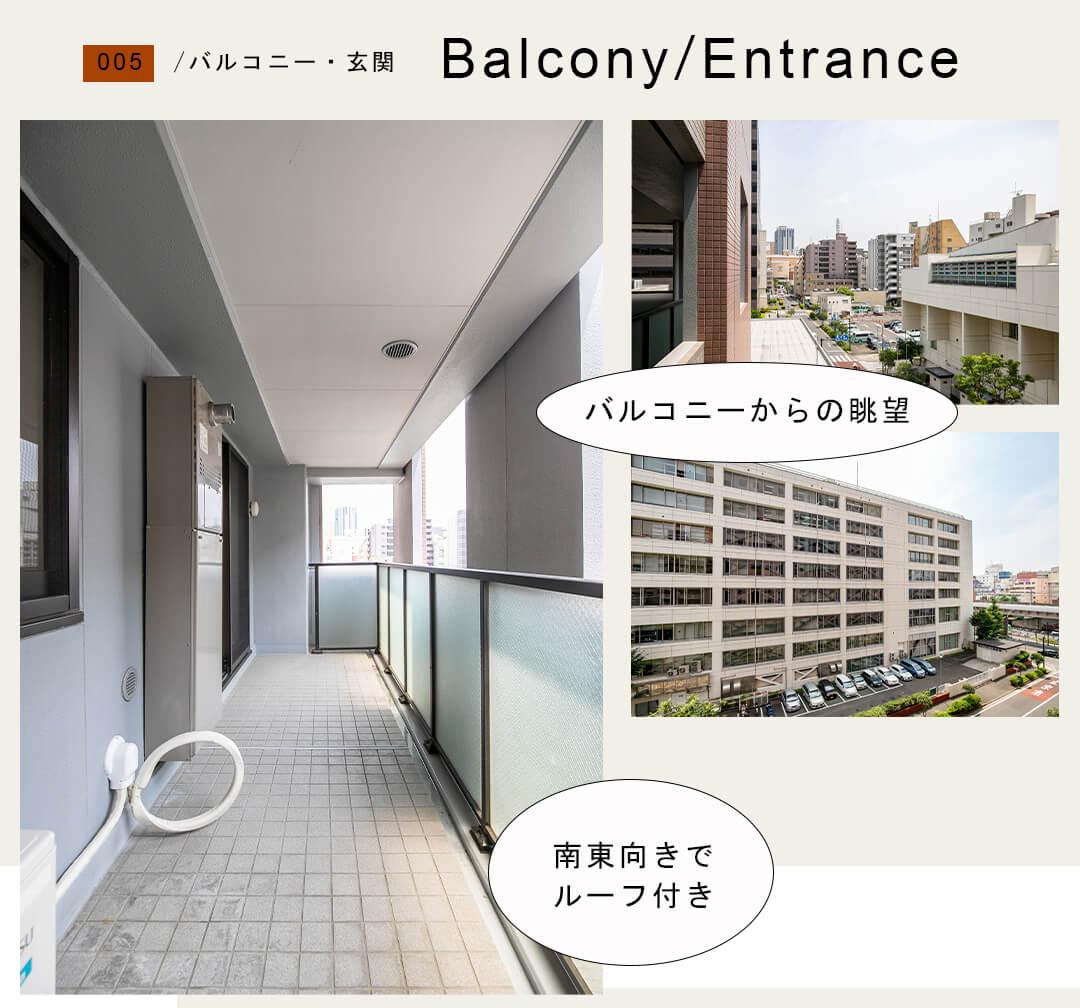 005バルコニー,玄関,Balcony,Entrance