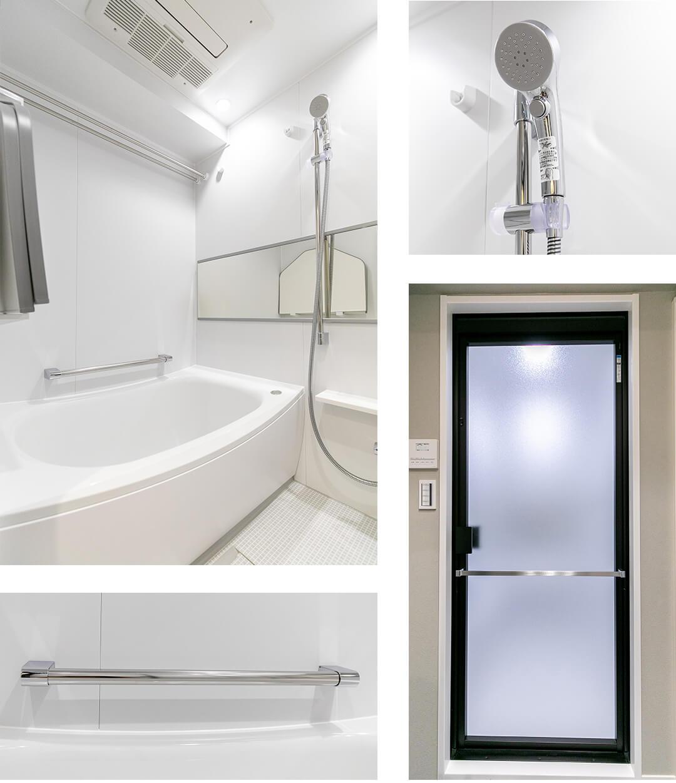 グラーサ西麻布の浴室