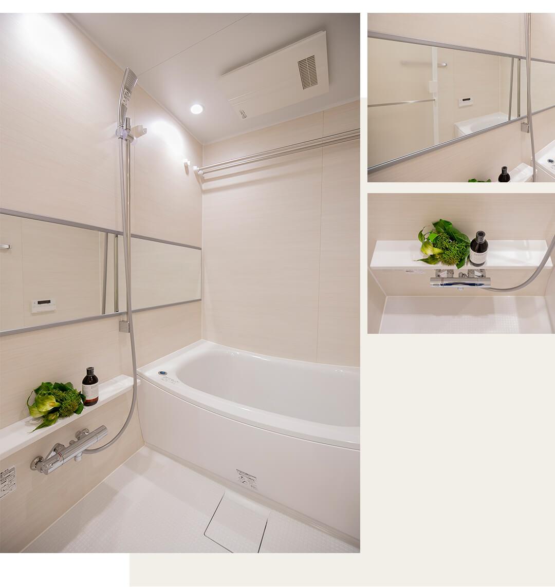 アビテ市ヶ谷仲之町の浴室