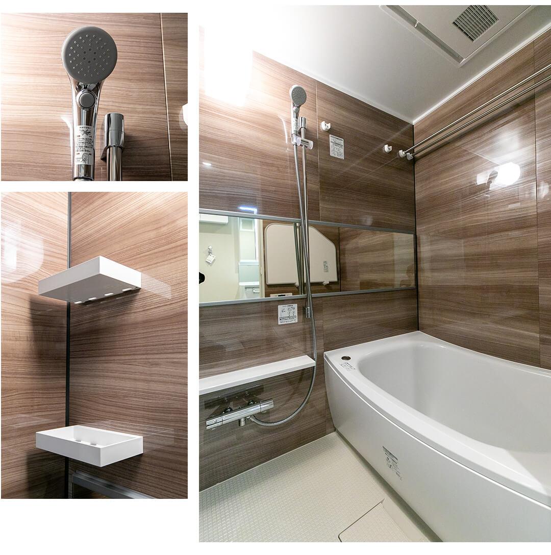 サンサーラ四谷の浴室
