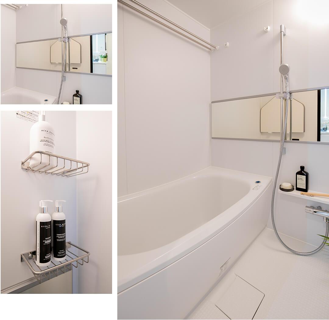 ベルジュ経堂の浴室