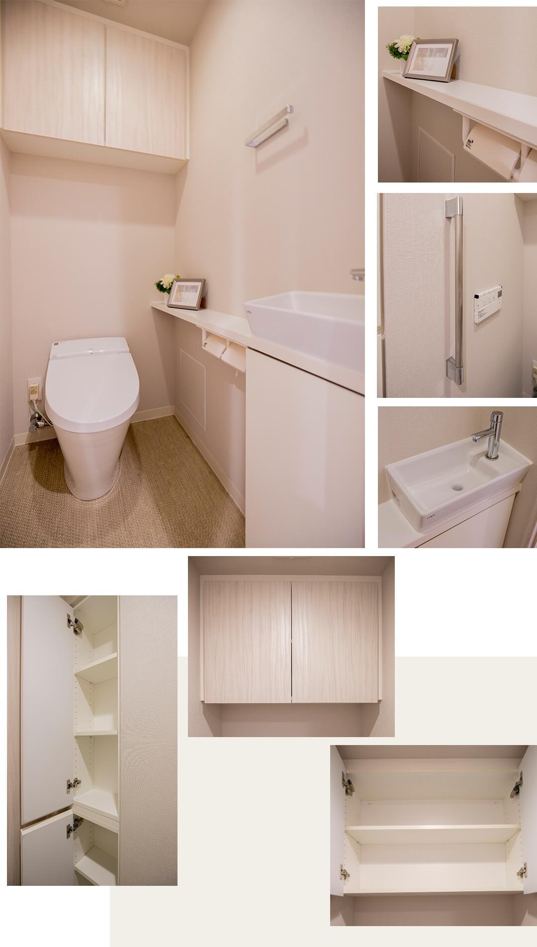リビオレゾン浅草橋のトイレ