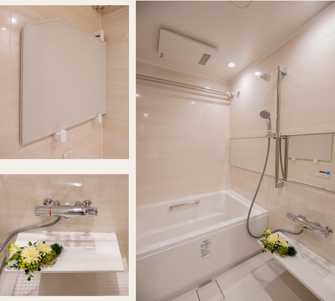パークハウス中野アーバンスの浴室