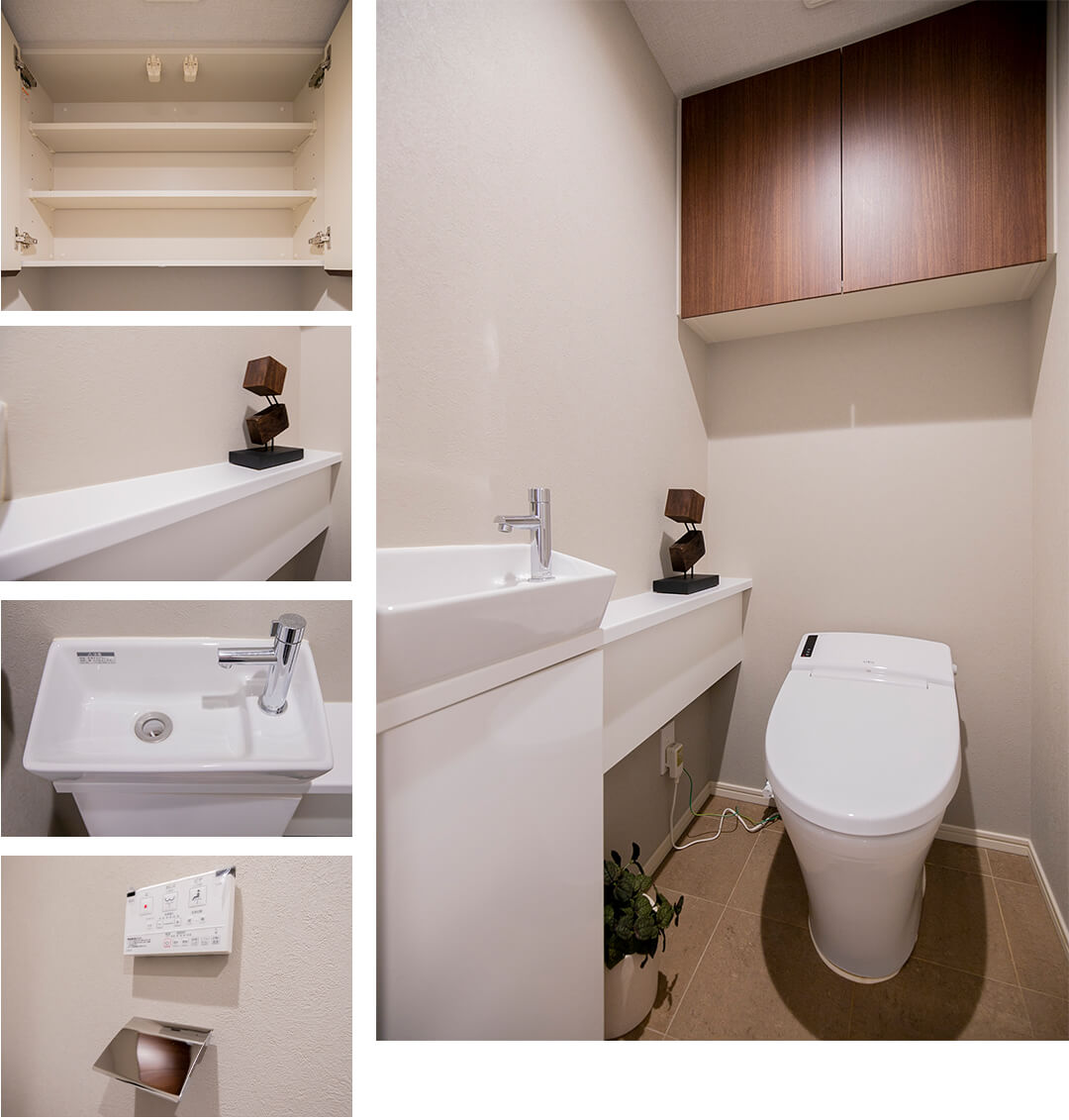 イニシア中野のトイレ