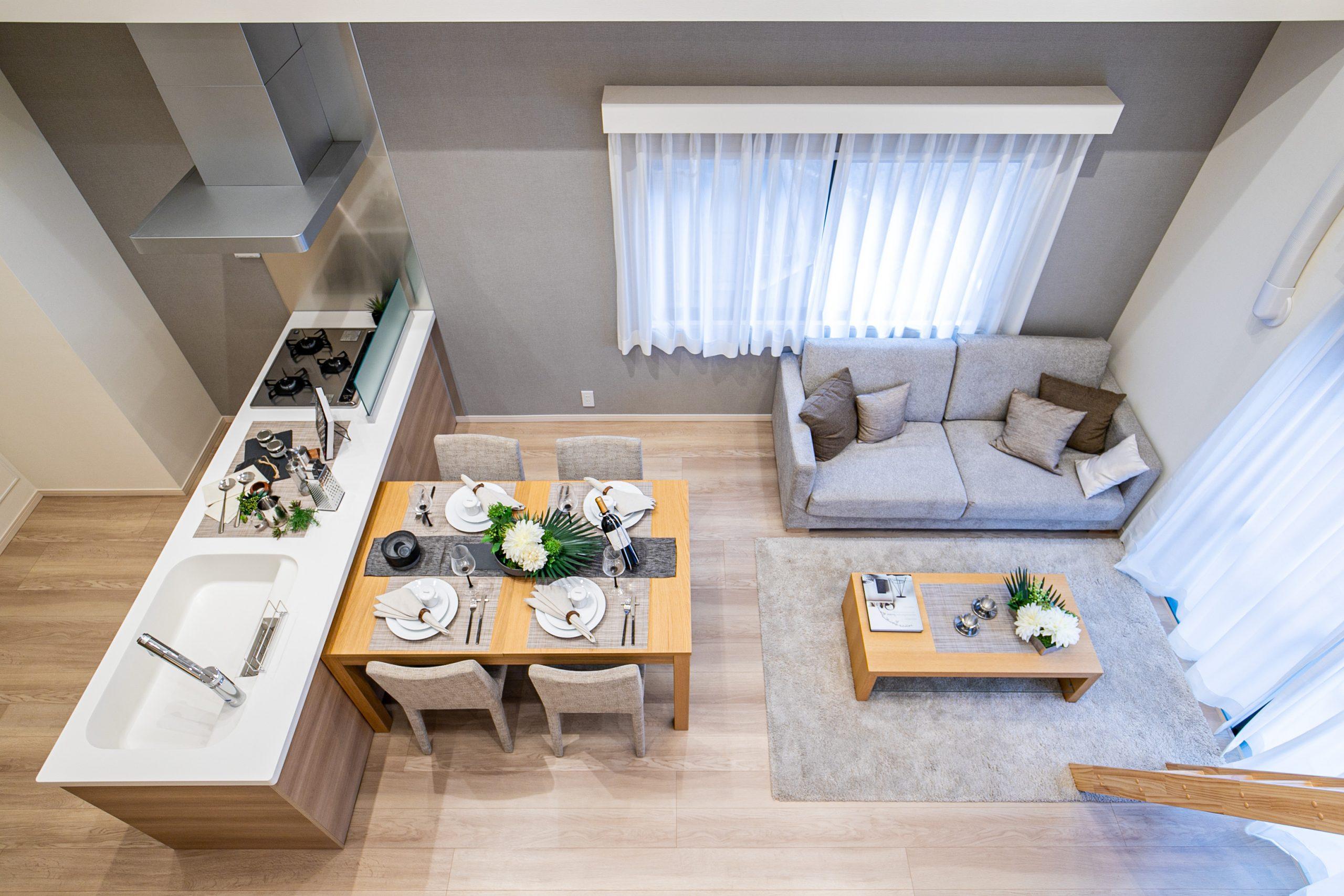 蒲田 天井の高い、開放感あふれた生活空間
