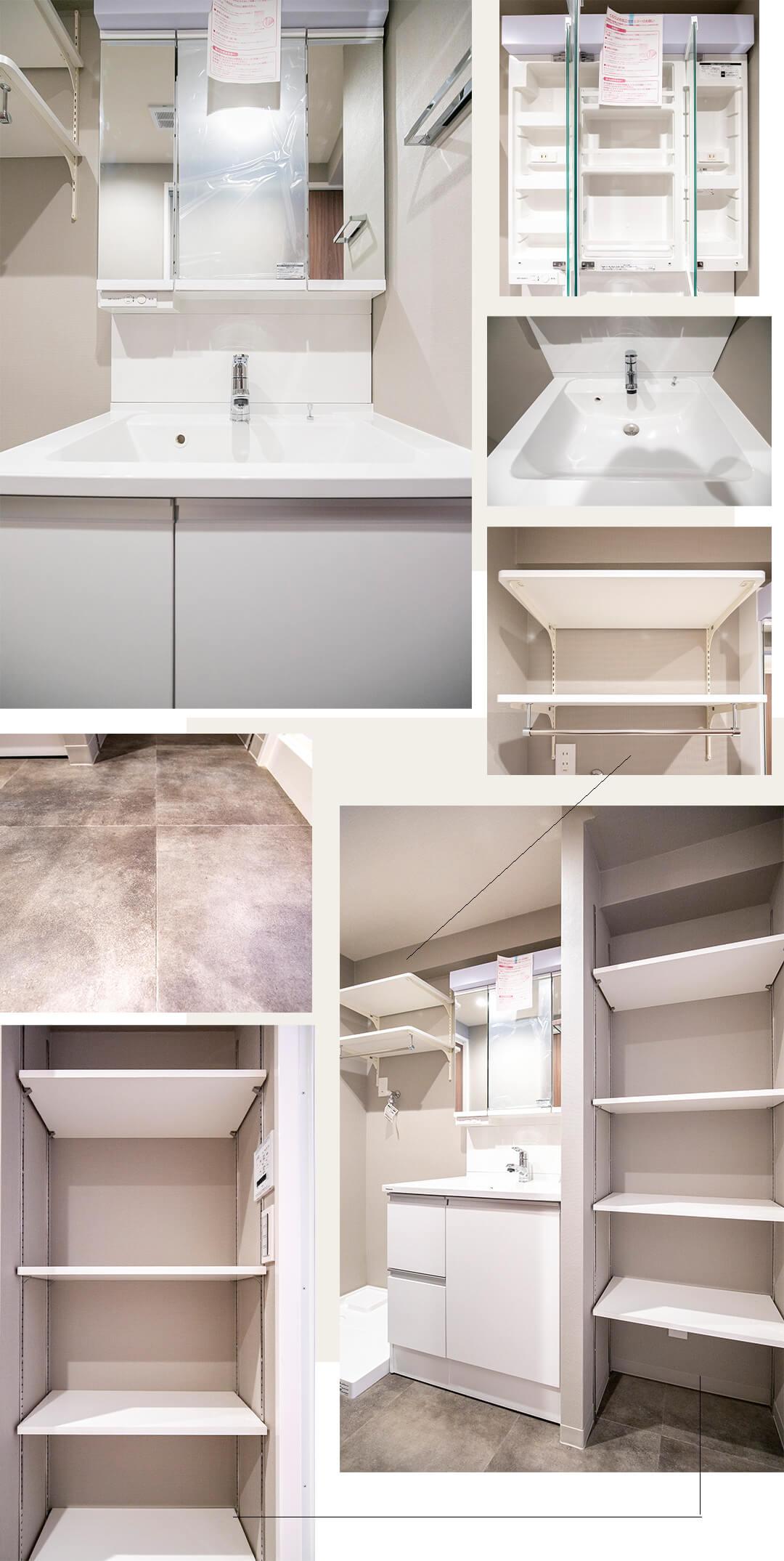 第5千歳船橋ヒミコマンションの洗面室