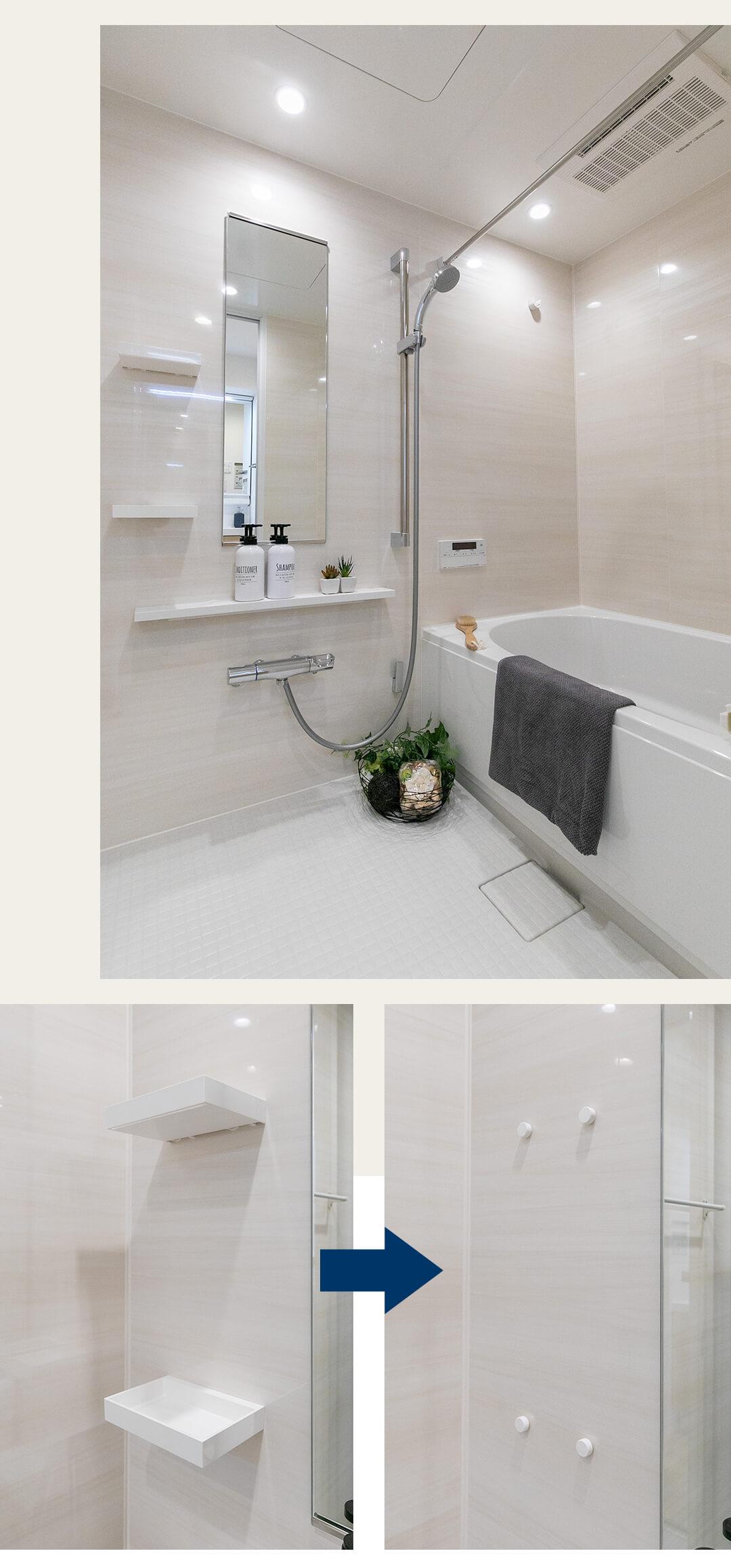 マイキャッスル蒲田Ⅲの浴室