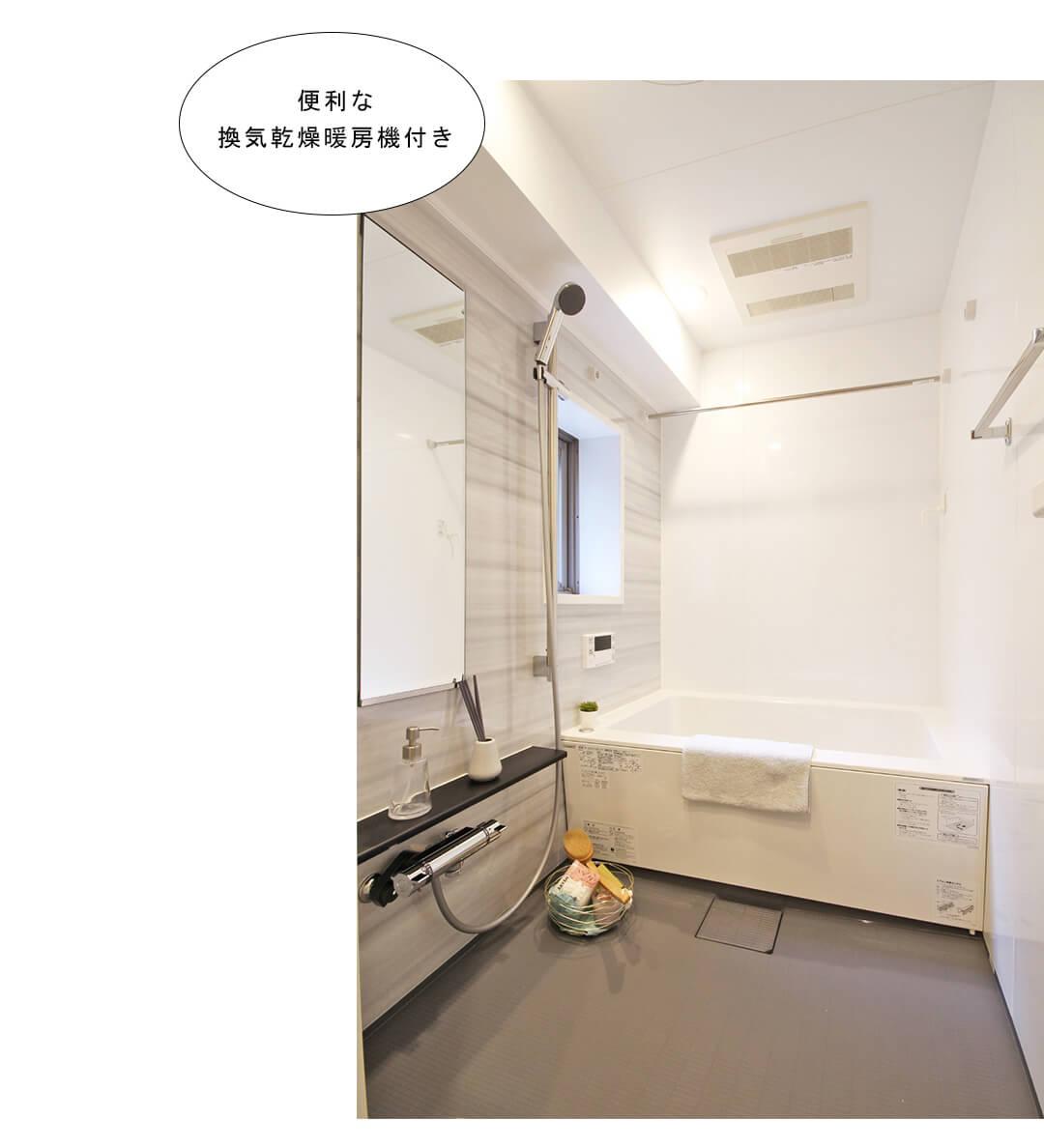 菱和パレス錦糸町 203号室の浴室