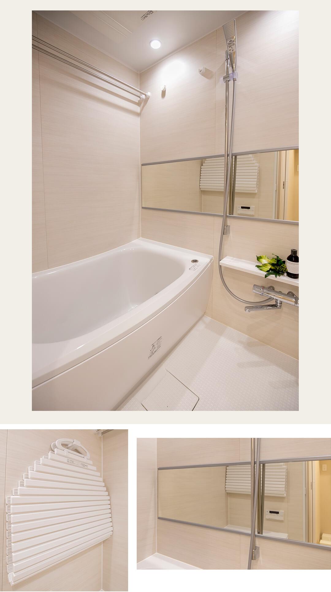 マンション第2明大前の浴室