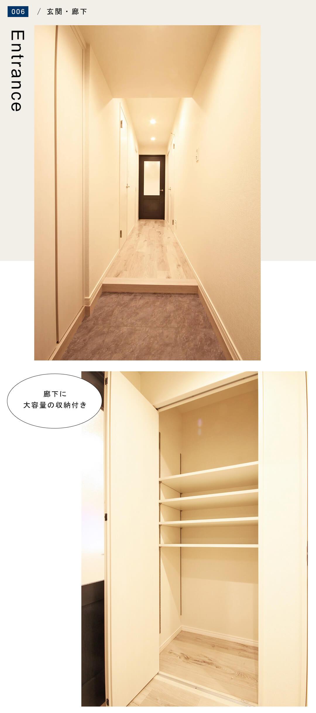 菱和パレス錦糸町 203号室の玄関・廊下