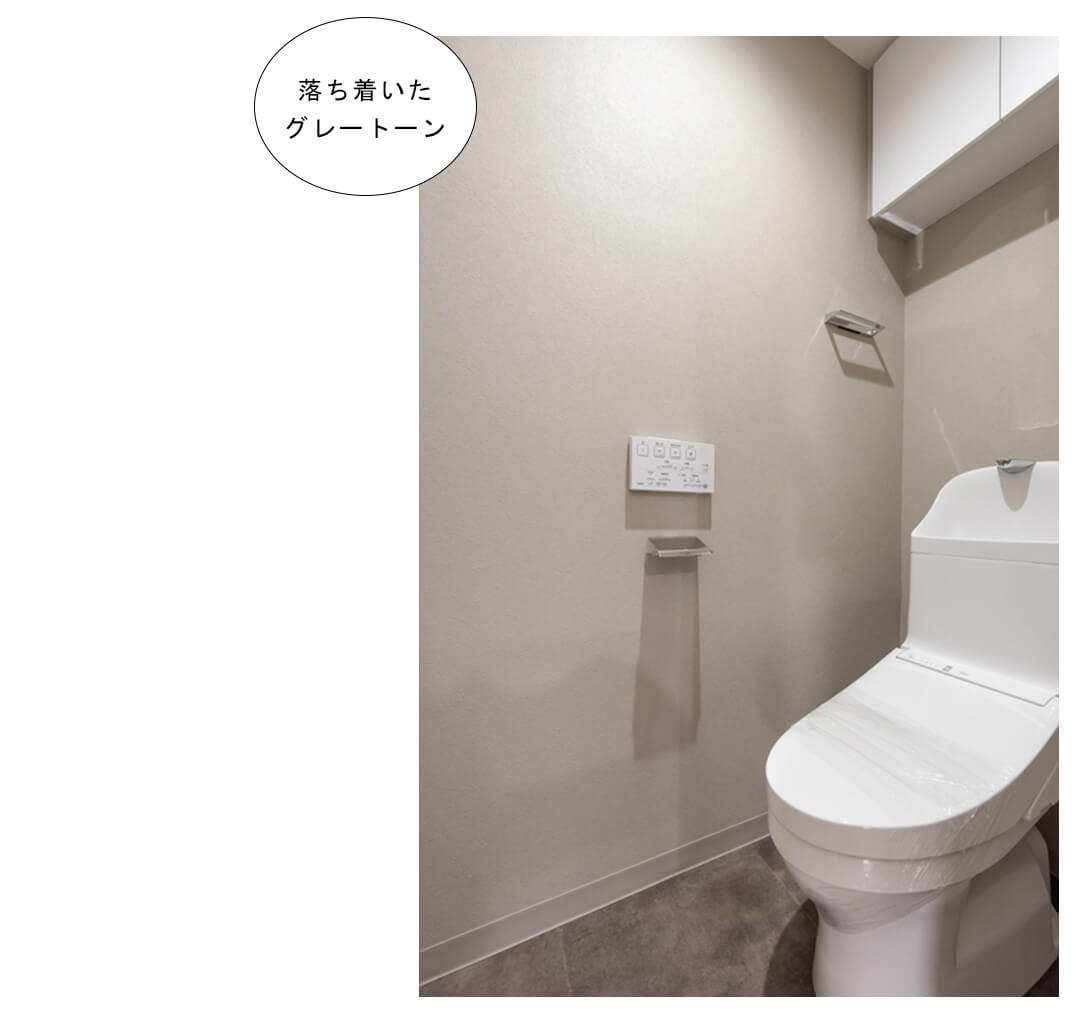 東十条ダイヤモンドマンションのトイレ