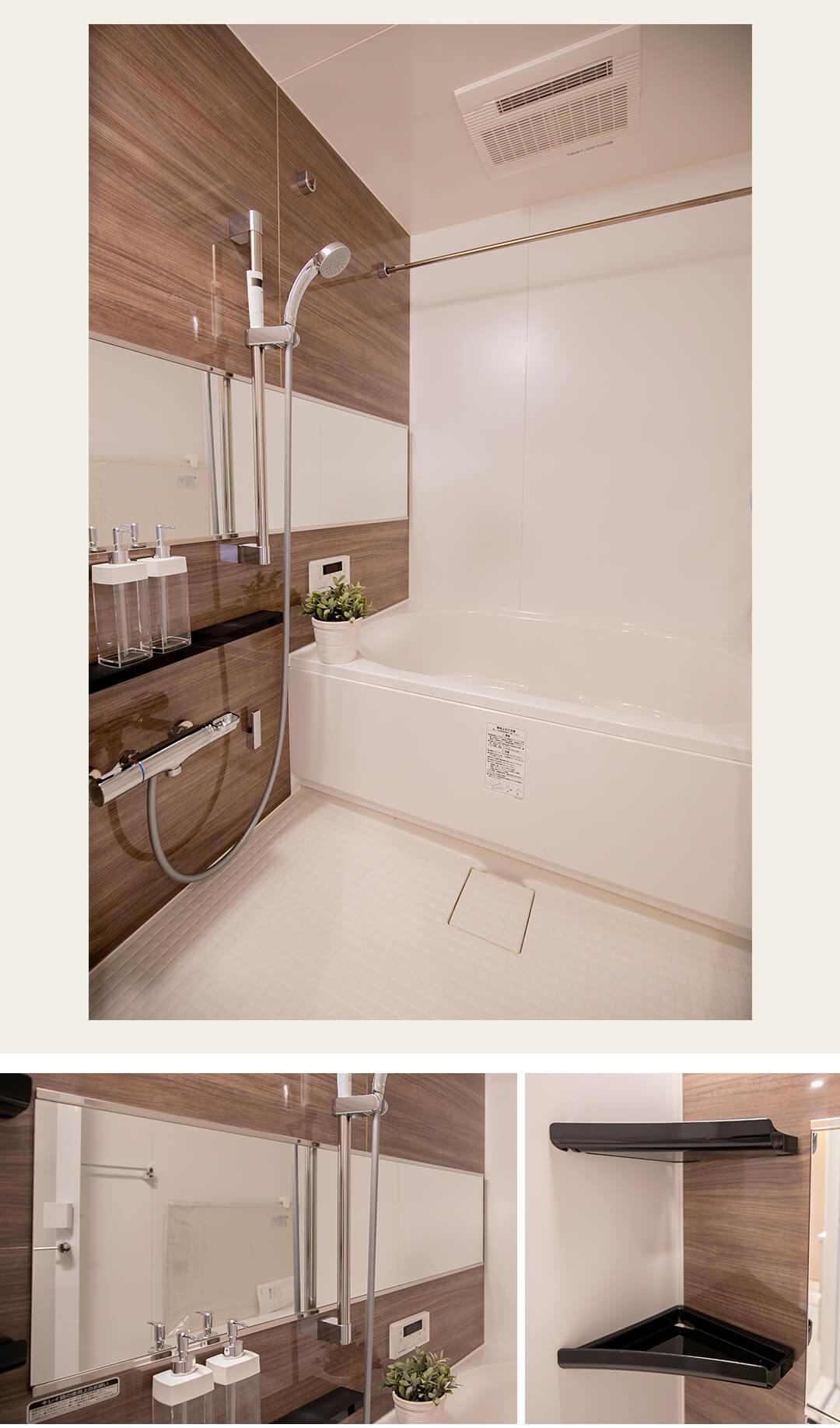 高田馬場シティハイツの浴室