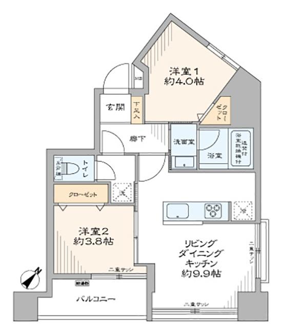 池田山 由緒ある憧れの高級住宅地エリア 間取り図