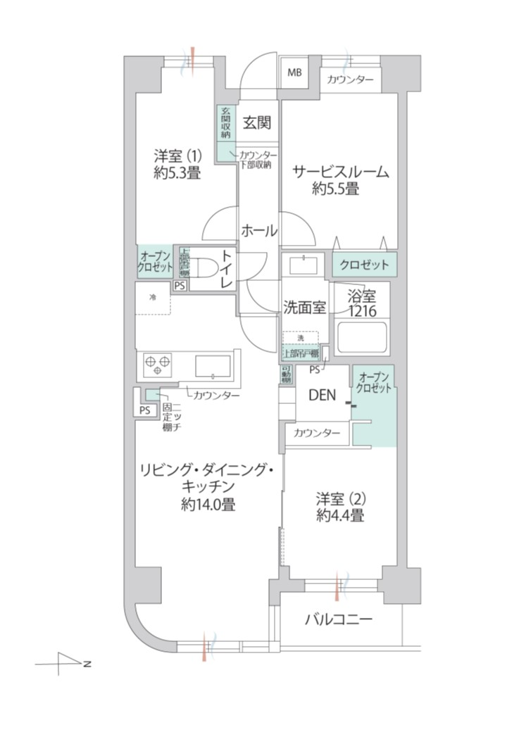 高田馬場 エド・コモン西早稲田