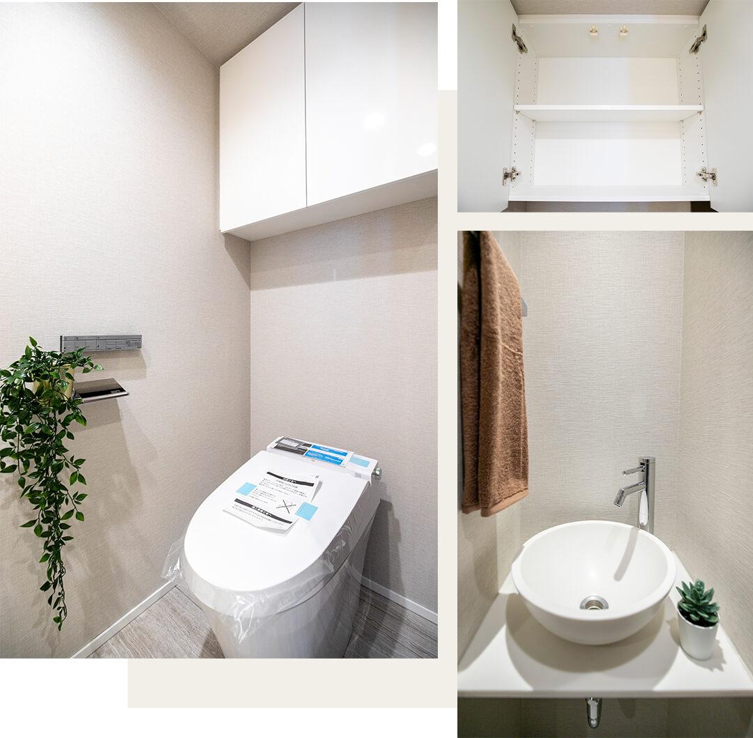 ラ ヴォーグ南青山のトイレ