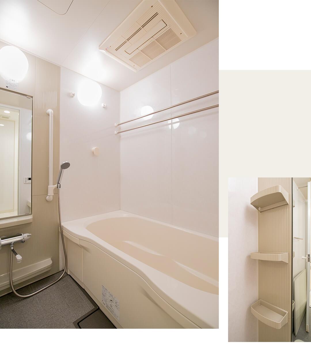 イトーピアマイズ池袋の浴室