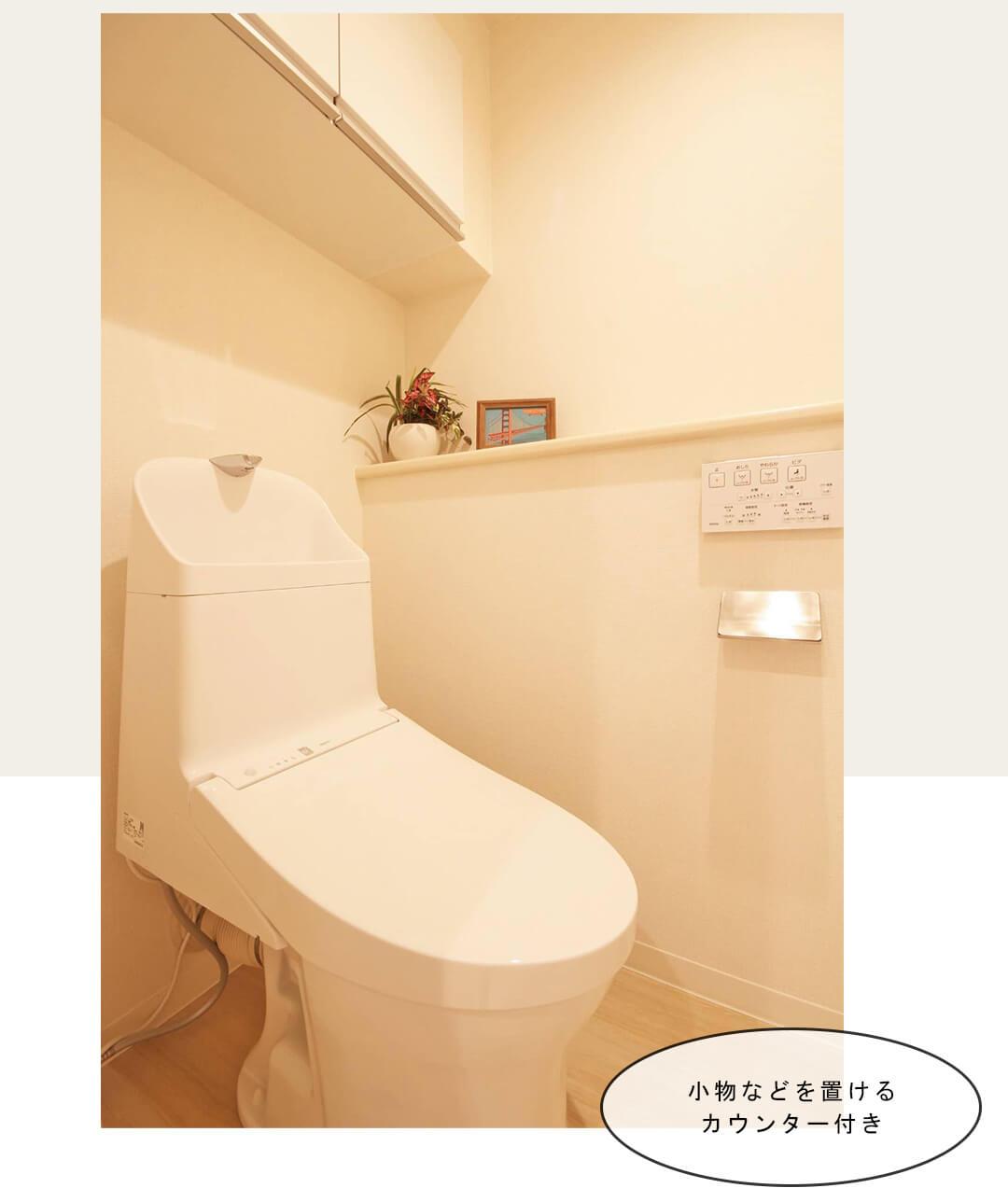 ユニオンパレス成城南のトイレ