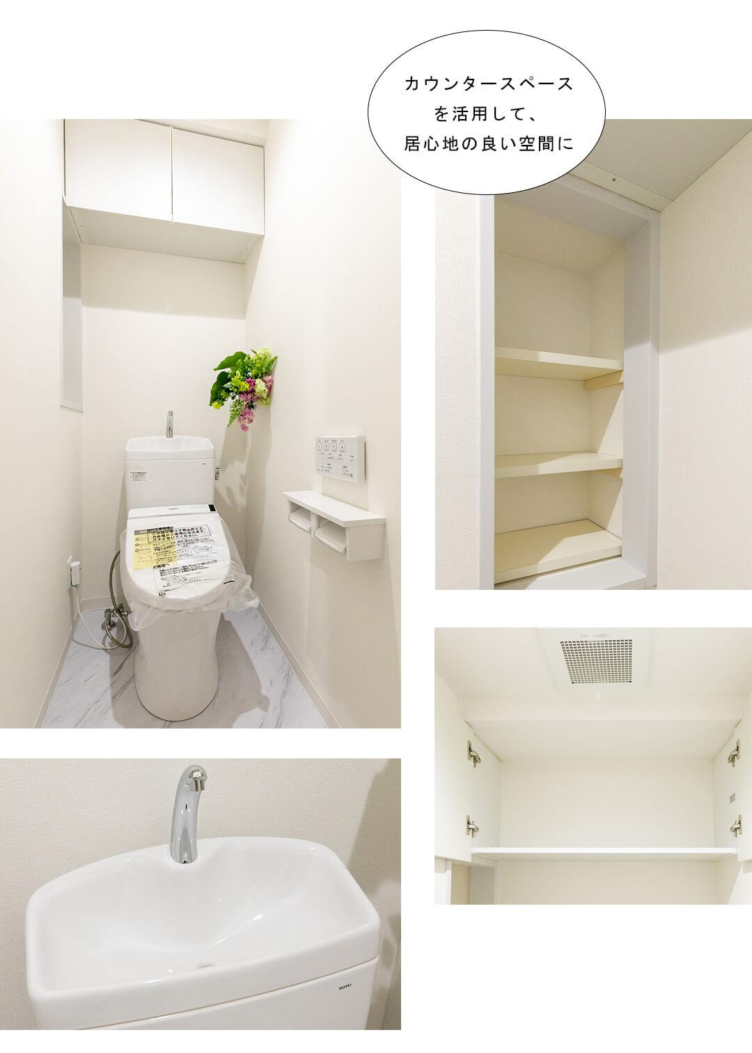 グランドステージ初台 902のトイレ