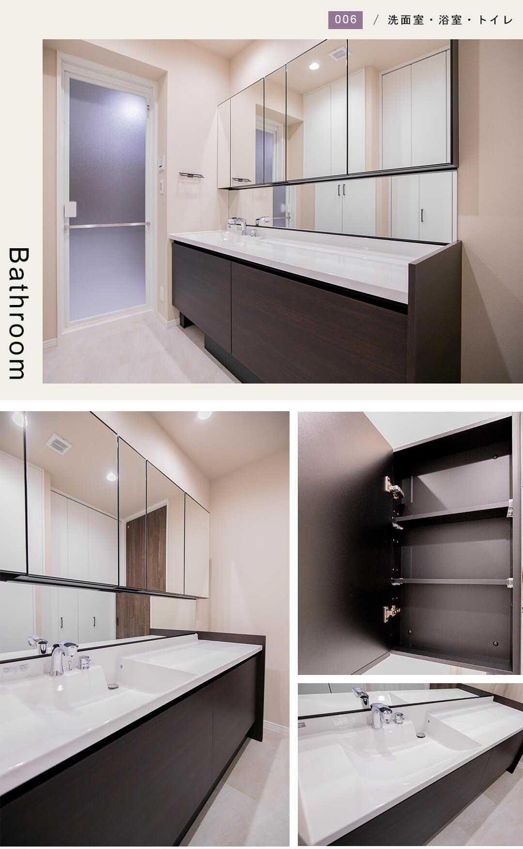 パレ・ロワイヤル永田町の洗面室